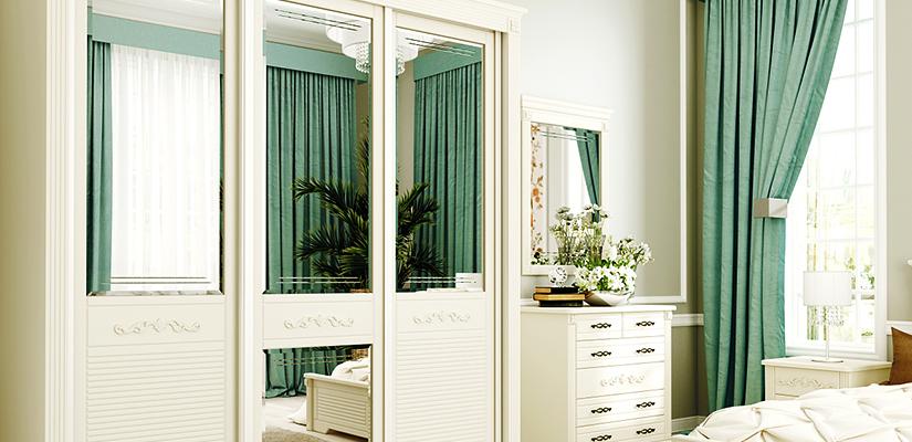 Встроенные шкафы с дверями от Aristo